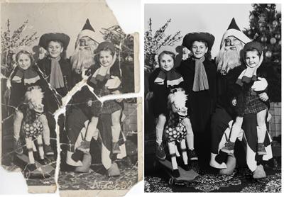 restauro fotografie digitale