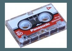 riversamento microcassette audio